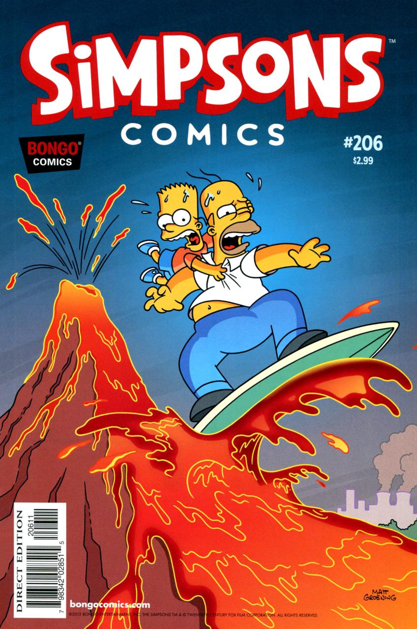 Simpsons Comics 206
