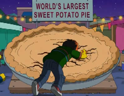 A Maior Torta de Batata Doce do Mundo