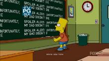 Clown in the Dumps chalkboard gag.png