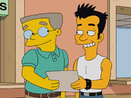 The burns cage - smithers and julio