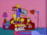 Harlem Globetrotters couch gag