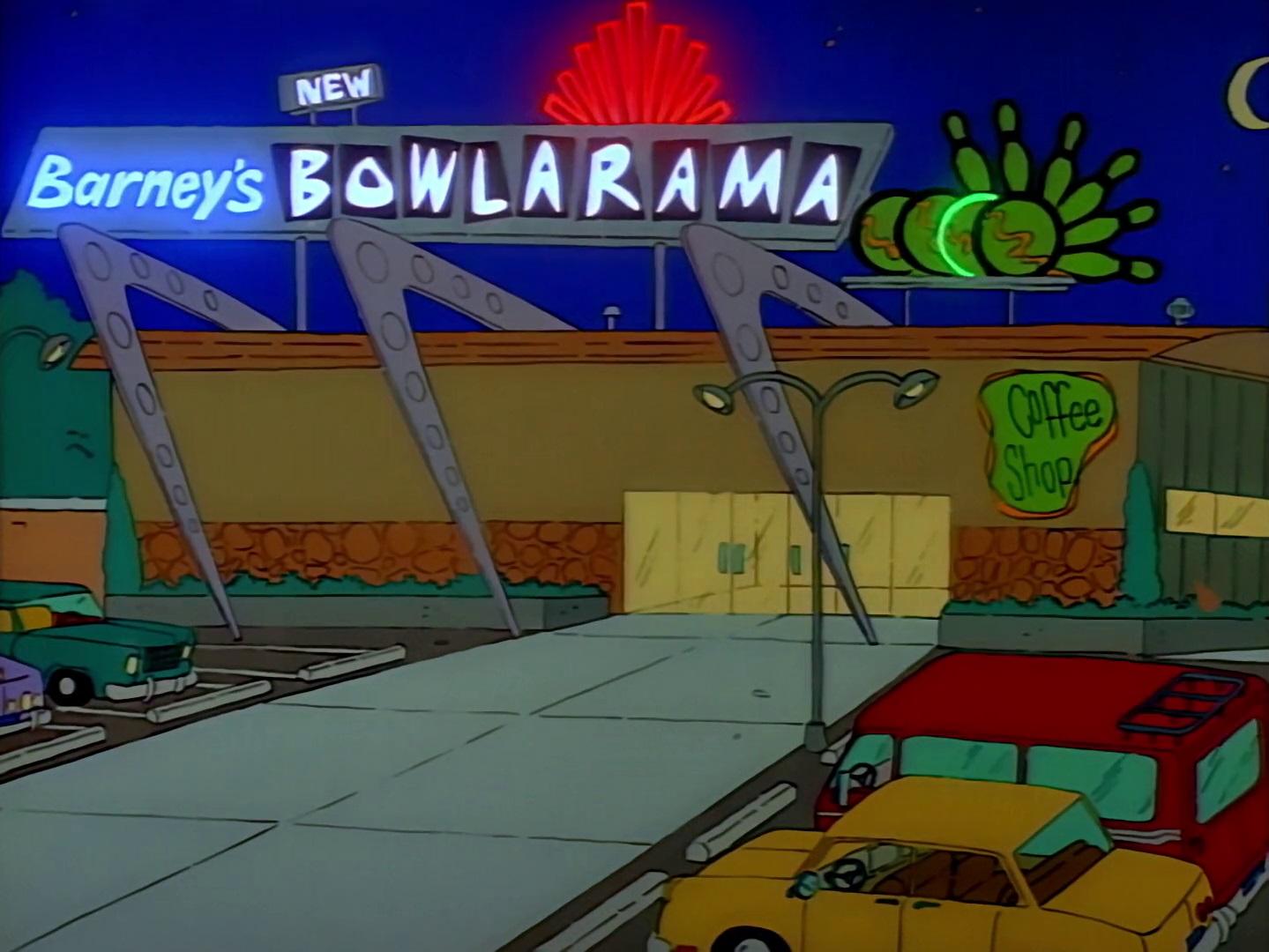 Barney's Bowlarama