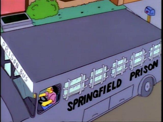 Springfield Prison Bus
