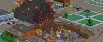 Sink Hole Simpsons Wiki Fandom