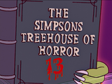 The Simpsons Treehouse of Horror 13 - Title Card