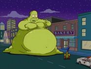 Homer as the Blob
