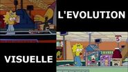 Parlons Simpson 6 L'évolution visuelle