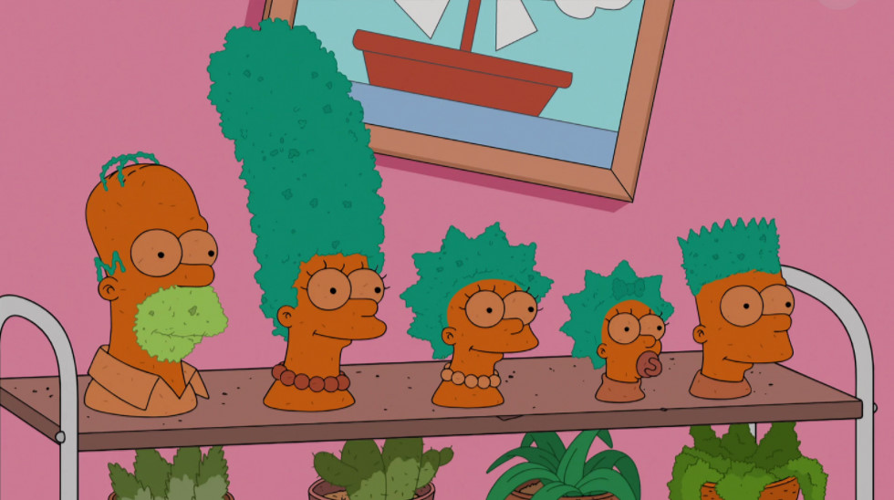 Chia Pets Family couch gag