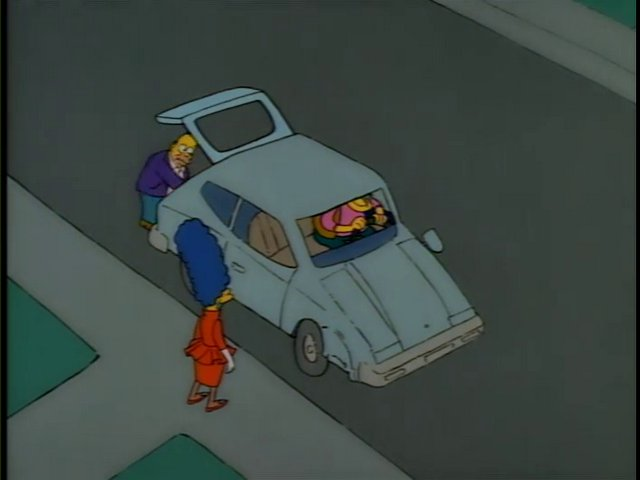 Ms. Botz's car