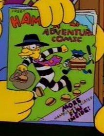 Hamburglar in: Adventure Comic