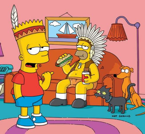Bart vai a guerra