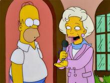 Betty white quer dinheiro homer