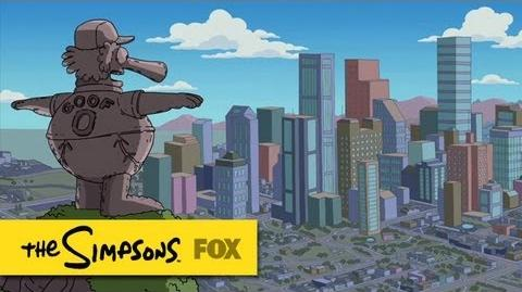 """Welcome to Capital City from """"Whiskey Business"""" THE SIMPSONS ANIMATION on FOX"""