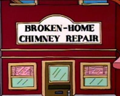 Broken-Home Chimney Repair