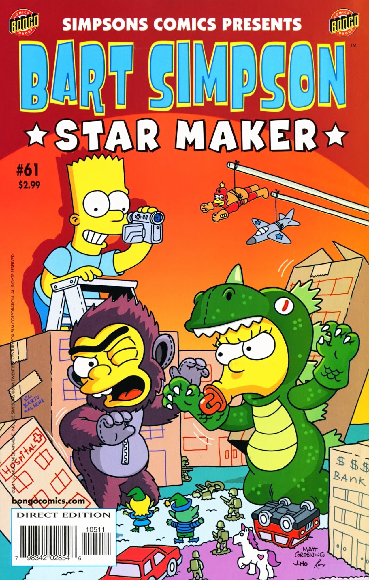 Bart Simpson Comics 61