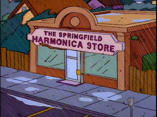 The Springfield Harmonica Store