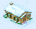Tapped Out Christmas Brown House