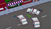 Tumult-police-springfield homer