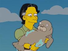 Caleb bebe peixeboi