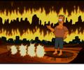 Flanders Devil reverting to normal