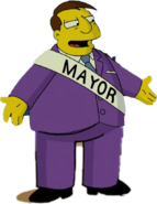 Joe Quimby in The Simpsons Movie