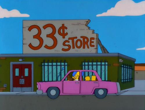 33 cents Store