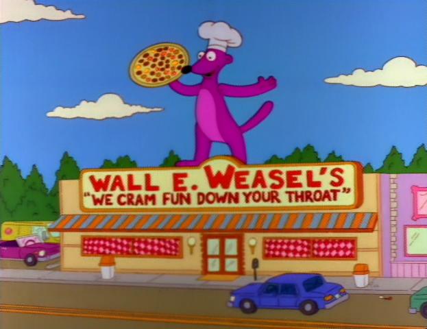 Parede do E. Weasel