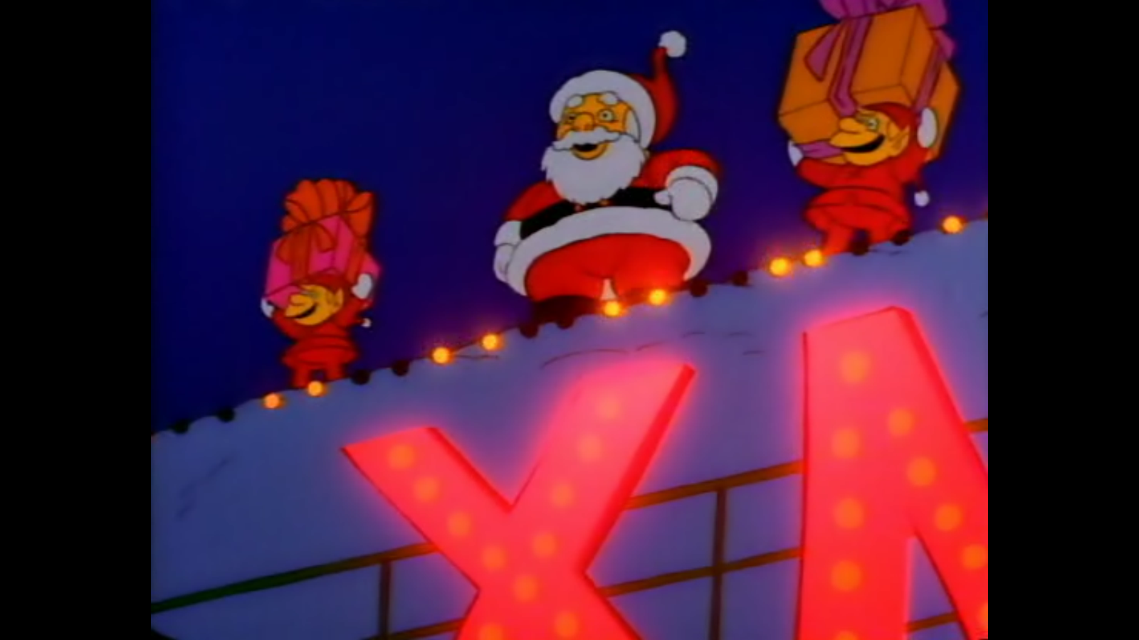 Flander's Santa