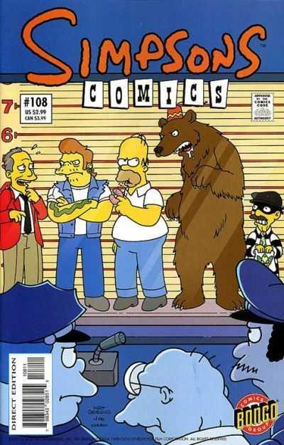 Simpsons Comics 108