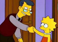 Lisa conhece prof tylor