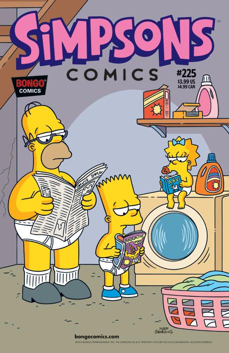 Simpsons Comics 225