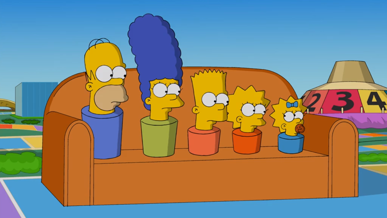 A Game of Life couch gag