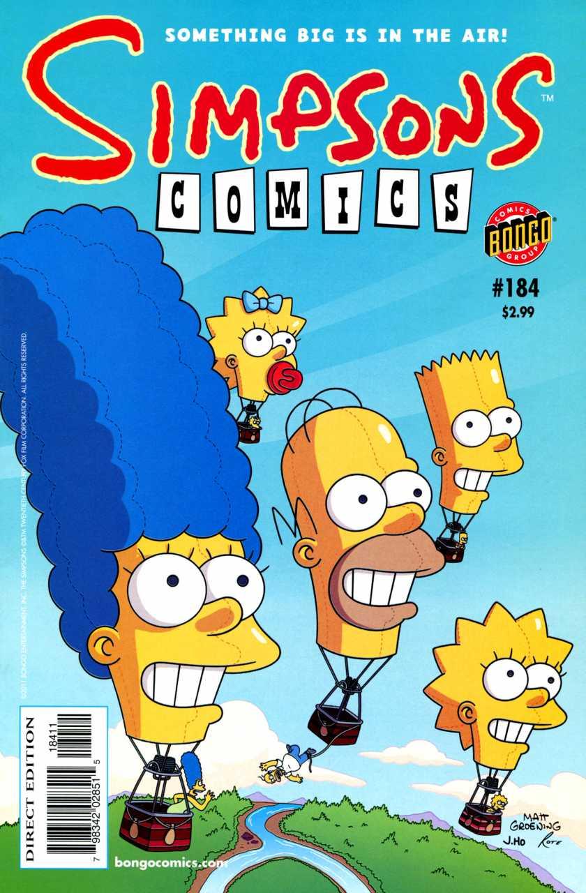 Simpsons Comics 184