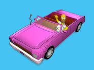 The Simpsons Road Rage Family Sedan