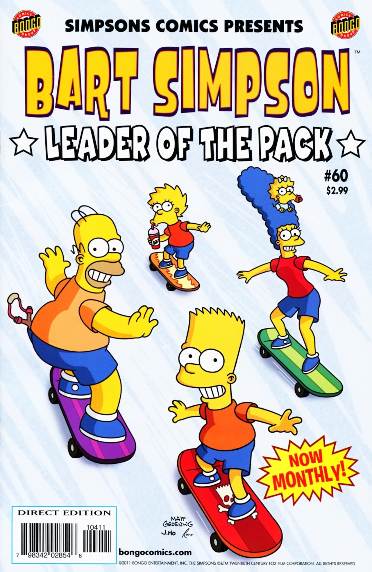 Bart Simpson Comics 60