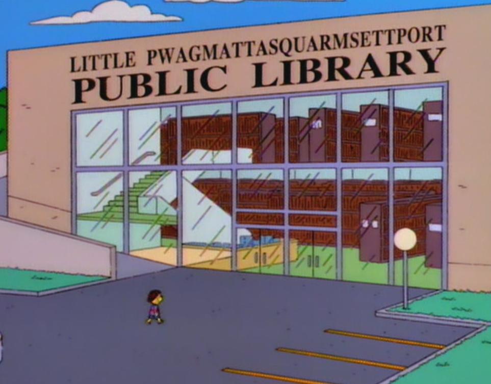 Biblioteca Pública de Little Pwagmattasquarmsettport