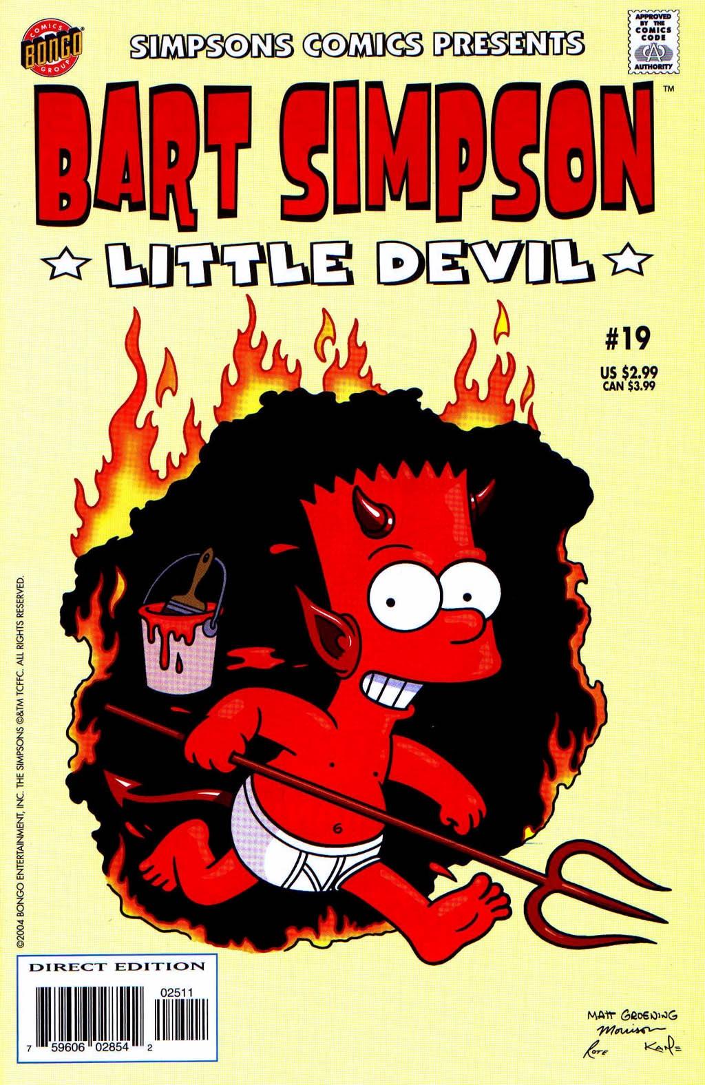 Bart Simpson Comics 19