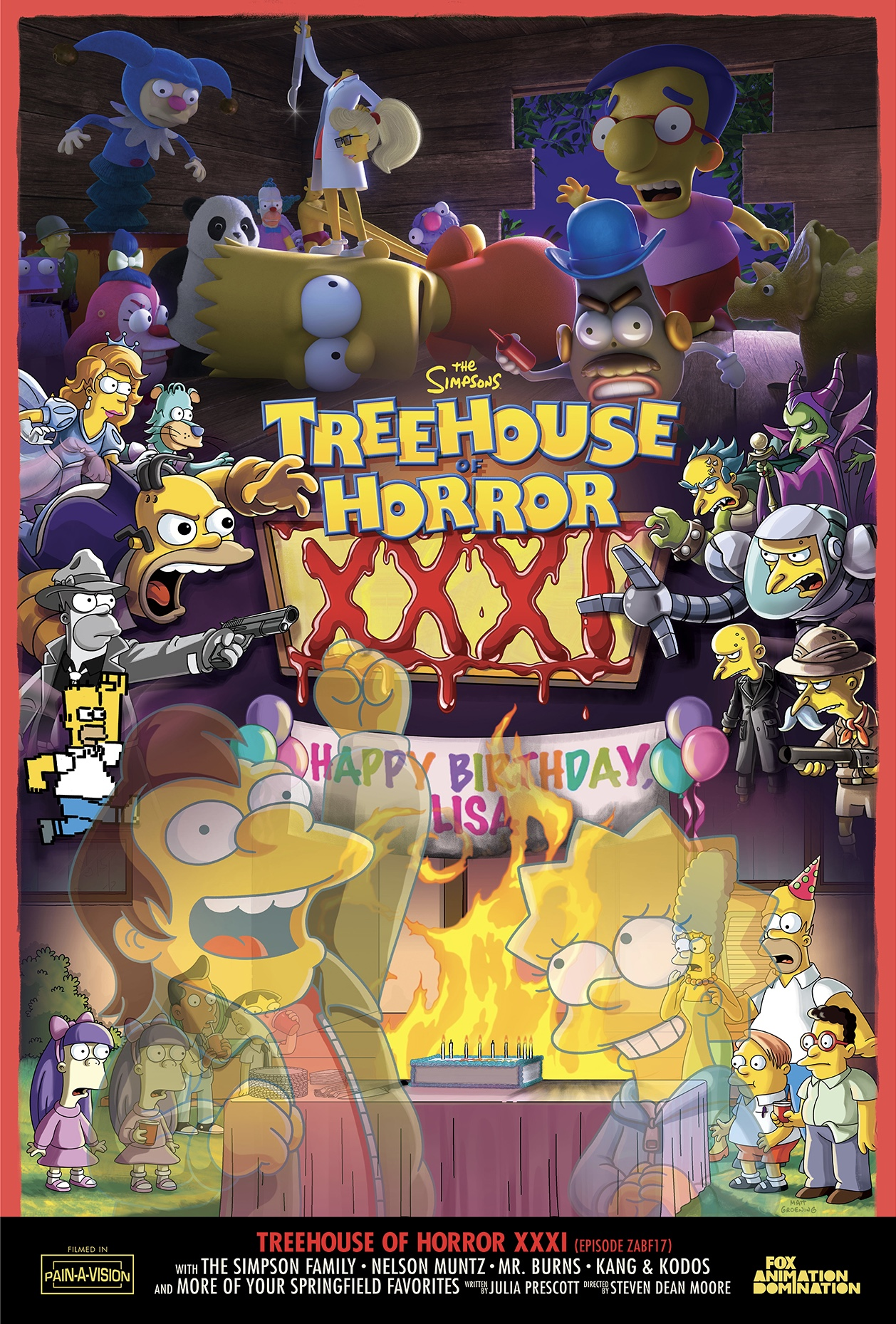 Treehouse of Horror XXXI
