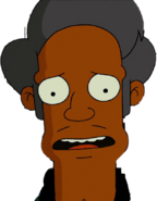 Apu Nahasapeemapetilon in The Simpsons Movie