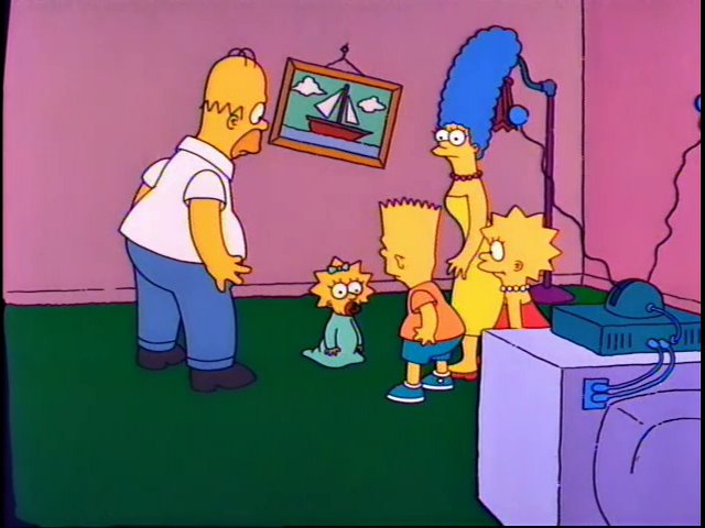 Missing Couch couch gag