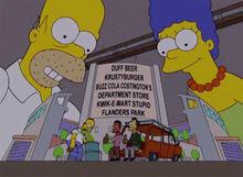 Homer marge maquete estádio
