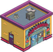 Itchy and scratchy store tapped out