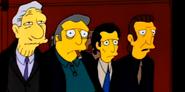 Fat Tony, Legs, Louie, and Don Vittorio DiMaggio