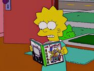 Lisa Reads The Simpsons