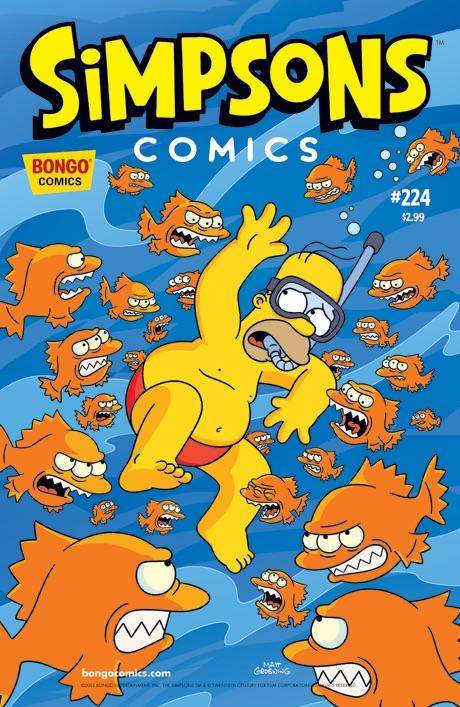 Simpsons Comics 224