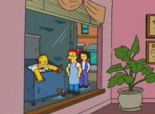 Homer lixeira chows