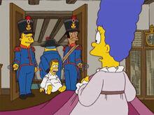 Homer preso guardas marge 18x11