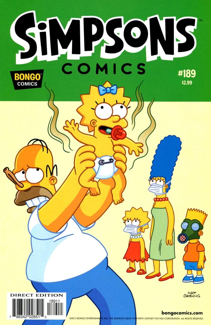 Simpsons Comics 189