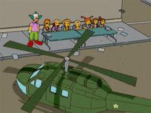 Krusty caipirinhas helicoptero