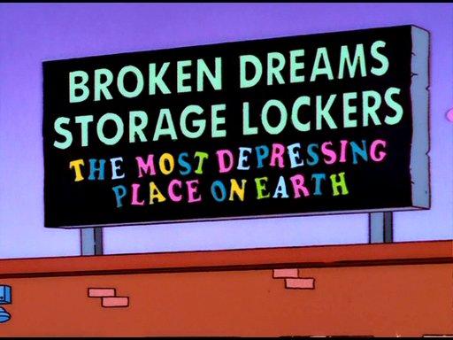 Broken Dreams Storage Lockers